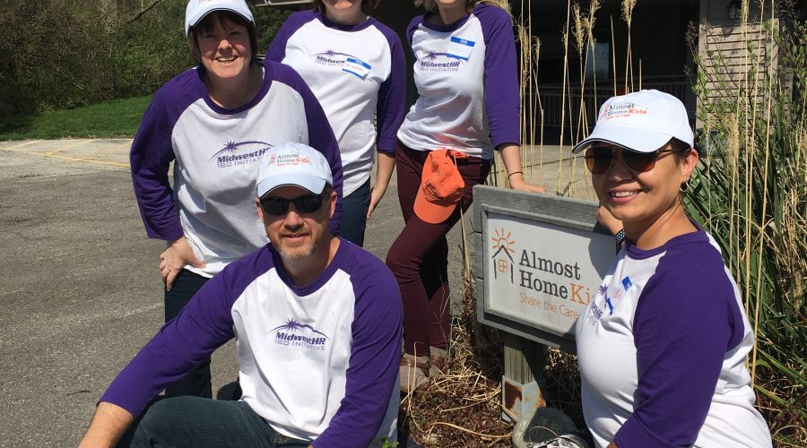 180 Initiative Volunteers Beautify Local Children's Transitional Facility